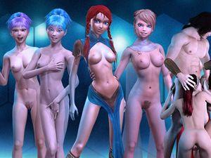 3D Girlz animado juego sexual desnuda