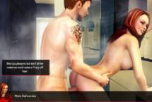 Chicas sexy jugando en el móvil porno