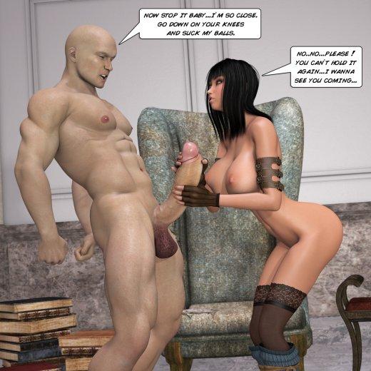Sexo generado por ordenador 3d female