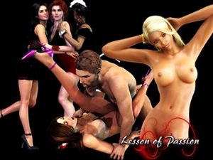 Lesson of Passion juegos flash XXX