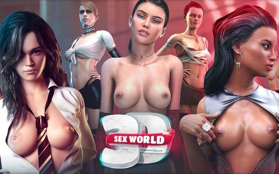 Sex World 3D XXX porno juego descargar