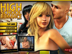 High School Romance juego sexual con estudiantes +18