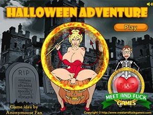 Halloween Adventure el sexo en un castillo
