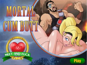 Mortal Cum Butt juego de sexo Mortal Combat