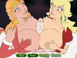 Nintendo Christmas 3 chicas calientes follando