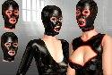 Sexo del latex en simulacion fetiche multijugador