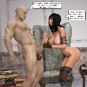 Chica desnuda tetas masturbarme pene monstruo