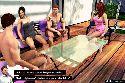 Gangbang sexo fiesta con pareja joven hablando