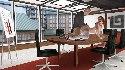 Follando de oficina mesa trasero